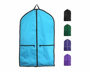 Derby Originals Vêtement étanche Sac de Transport avec Garantie d'un an, 81-2512TQ, Turquoise, 38″ Height x 24.5″ Length x 4″ Width