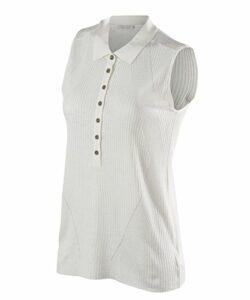 FALKE Imperia Poloshirt Femme, Blanc (White 2860), S
