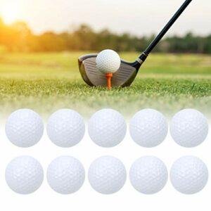 Gatuxe Balle de Practice de Golf, balles d'accessoires d'entraînement Balles de Golf Balles de Putting de Golf Balles de Golf Creuses Accessoire de Golf Balles de Practice de Golf pour la Maison