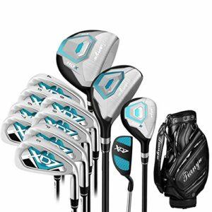 Gyubay Golf Putter Golf Club Golf Débutant 12 Piece Golf Club Hommes Set Golf Practice Blue Golf Club Situé Putter Intérieur Extérieur Golf Sports (Couleur : One Color, Size : A2)