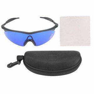 HechoVinen Détecteur de balle de golf professionnel avec étui moulé, cordons pour lunettes de soleil moins de fatigue