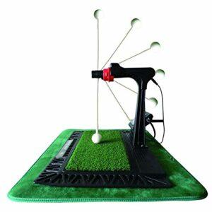 Hörsein L'entraîneur de Golf oscillant électronique Balance sur Place, la Balle revient automatiquement sans ramasser Le Ballon.