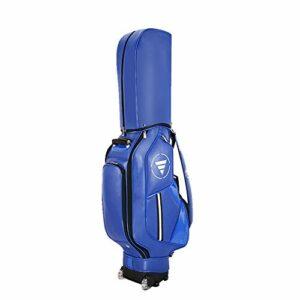 inChengGouFouX Excellente Sensation Blue Standard Golf Sac Récittable Hommes Golf Travel Coque Organisateur Standard Golf Sac de Golf Sac de Golf Épais (Couleur : Blue, Size : As Shown)