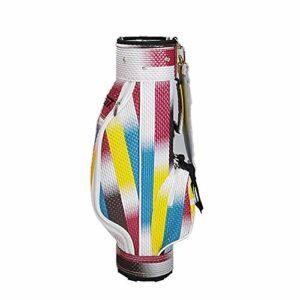 inChengGouFouX Excellente Sensation Rainbow Stripe Golf Sac Gradient Golf Stand Sacs pour Boy Golf Travel Case Organisateur Sac de Golf Épais (Couleur : Boy, Size : S)