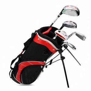 inChengGouFouX Excellente Sensation Sac de Golf pour Enfants Garçons Lightweight Golf Travel Case Golf Sac Golf Travel Case Organisateur Sac de Golf Épais (Couleur : Boy, Size : 9-12years Old)