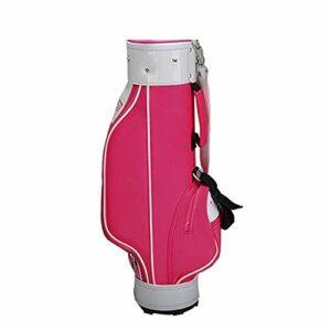inChengGouFouX Excellente Sensation Sac de Golf pour Enfants Rose Lightweight Golf Travel Case Organisateur Lightweight Golf Travel Case Sac de Golf Épais (Couleur : Girls, Size : S)
