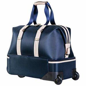 inChengGouFouX Sac à Vêtements de Golf Durable Sac à bandoulière à Bagages de Sport à Double Couche Sac à bandoulière avec Gymnastique Équipement de Plein Air (Couleur : Blue, Size : One Size)