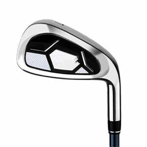 JIAGU Sand Wedge & Lob Wedge Golf Wedges Club de Golf Junior Unisexe Droite Main Droite Coups de Flop faciles (Color : Silver, Size : One Size)