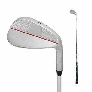 JIAGU Sand Wedge & Lob Wedge – Wedge de golf harmonisé pour homme – Pour droitier – Couleur : gris – Taille : unique