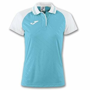 Joma Torneo II Polo pour Femme Taille Unique Turquoise-Blanc