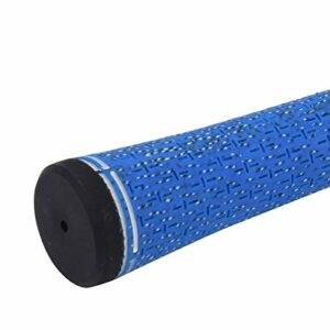 Kadimendium Grip Golf Grip Anti-dérapant Standard pour l'entraînement(White/Blue)