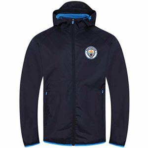Manchester City FC Officiel – Coupe-Vent/Imperméable thème Football – Homme
