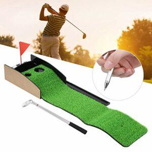 minifinker Livré avec 3 balles d'entraînement supplémentaires Putting Green de Haute qualité, pour Tous Les débutants ou Les Amateurs de Golf expérimentés, comme Cadeau Parfait