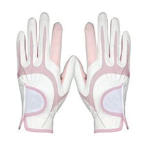Mode et simplicité, fabrication exquise, gants de golf très extensibles et respirants, respirants et antidérapants, main gauche et droite, paire de gants de golf, résistants à l'usure