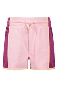Mountain Warehouse Colourblock Kids Short Lila 7-8 Ans