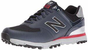 New Balance Men's nbg518 Golf Shoe, Navy/Red, 9.5 D US