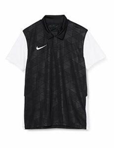 Nike Trophy IV Chemise Polo Homme, Black/White/White, M