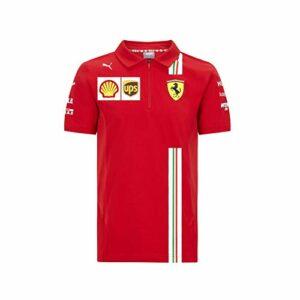 Official Formula One – Scuderia Ferrari 2020 – écurie Puma Polo – Size:S