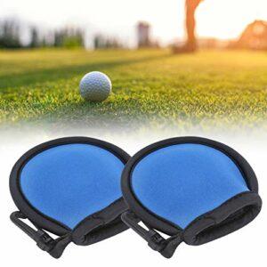 Okuyonic 2pcs Sac de Balle de Golf Professionnel Poche de Balle de Golf Sac de Balle de Golf pour Le Golf