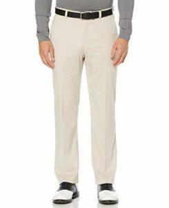 PGA TOUR Men's Flat Front Active Waistband Golf Pant