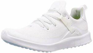 PUMA Laguna Sport, Chaussures de Golf Femme, Blanc (White-White 01), 38 EU