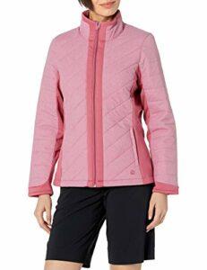 PUMA Primaloft 2020 Veste de golf pour femme moyen Vin rose.