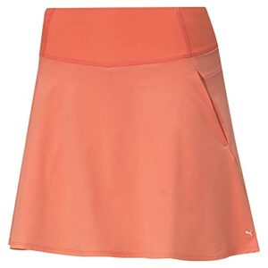PUMA Pwrshape Solid Woven Skirt 18″ Shorts de Golf, Pêche Georgia, 48 Femme