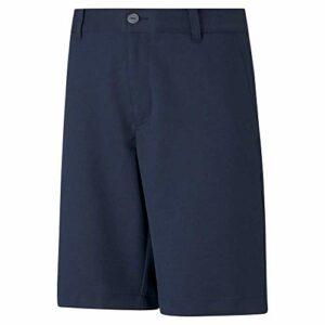 PUMA Short de Golf Stretch pour garçon – Bleu – XS