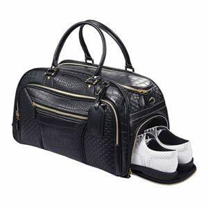 Sac à Vêtements de Golf Durable Sac de golf imperméable sac de voyage sac de voyage sac à main de remise en forme avec organisateur de compartiments de chaussures Équipement de Plein Air