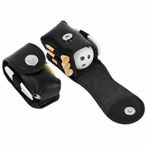Sac de Balle de Golf Doux et Confortable, pour Accessoire de Golf, pour l'entraînement Sportif en Plein air(Black)
