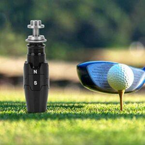 Shipenophy Manchon Adaptateur d'arbre de Golf en Alliage d'aluminium léger pour Les Amateurs de Golf