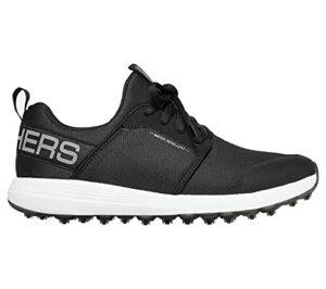 Skechers Max Shoe, Chaussure de Golf Homme, Noir et Blanc Sport, 47 EU