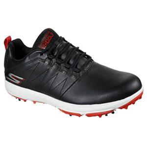 Skechers Pro 4 Legacy Chaussures de golf pour homme Noir/rouge – – noir/rouge, 42.5 EU