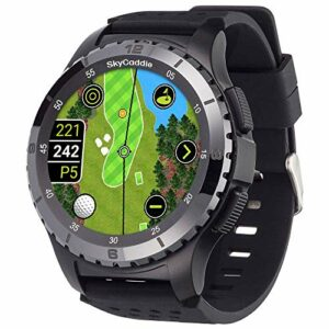 SkyCaddie LX5C Montre GPS de golf avec lunette en céramique