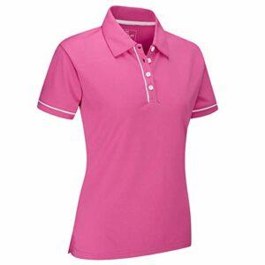 Stuburt Sblts1112 Polo pour Femme Doré, Femme, SBLTS1112_Blush_L, Rose, L