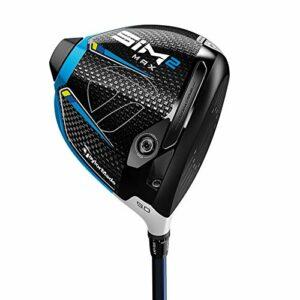 TaylorMade SIM 2 Max Driver pour homme droitier Graphite Regular 10,5 degrés Ventus Blue