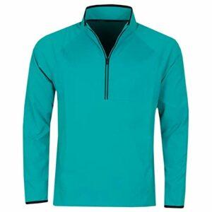 Under Armour Hommes UA Golf TempTe Windstrike HZ Jacket – Teal Rush – XL