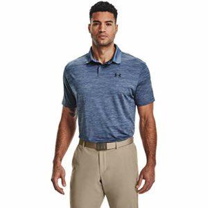 Under Armour Polo de Golf Performance 2.0 pour Homme S Bleu minéral/Noir.
