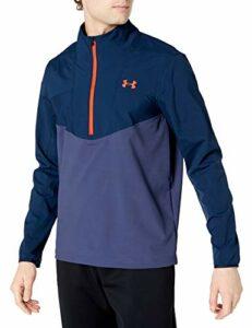 Under Armour Storm Windstrike T-shirt de golf avec demi-fermeture Éclair pour homme Bleu académie (409)/Beta Taille S