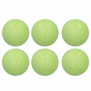 Voluxe Lot de 6 balles lumineuses fluorescentes pour la pratique du jeu