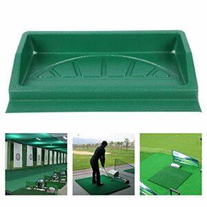 Wakects Plateau pour balles de golf Plateau PE 100 balles de golf Boîte de support pour balles de golf