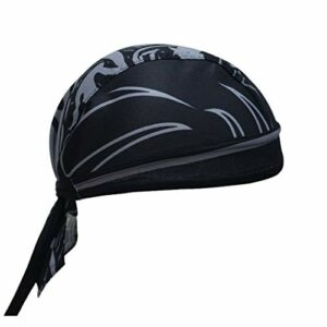 X-Labor Bandana Unisexe Respirant, Protection UV pour Moto, vélo, VTT, etc, Noir