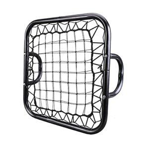 YOLDS Mini Rebond de Poche Net-Football de Football Net Football Objectif, Fort et Durable sans nœuds, Net de Balle Pliable en Plein air intérieur.