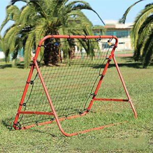 YOLDS Pratique de Golf Net-Football Rebond de Football Net Pratique de Baseball Net Pratique de Baseball Net Net de Rebond de Hockey Net, Fort et Durable sans nœuds, Filet