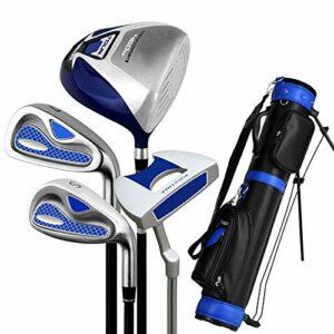 Clubs de Golf Putter de Golf Ensemble de Clubs de Golf d'entraînement Complet Ensemble de Golf pour débutants Semi-Set pour Hommes Exercice de Golf pour débutants Club Polyvalent et fiable (