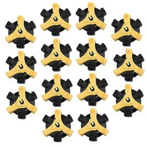 EElabper Chaussure de Golf Spikes Remplacement Rapide Turn Stinger Remplacement Set Stinger Aides à la Formation de Golf 14pcs