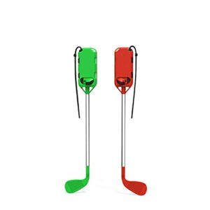 FSDELIV Club de Golf – Compatible pour Switch Golf Game Grip Golf Rushing Gauche et Droite Petites Poignées Accessoires de Jeu avec Dragonnes