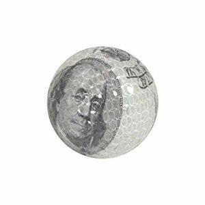 Nitro Novelty Balles de Golf de l'argent Tube d'affichage (Lot de 3)