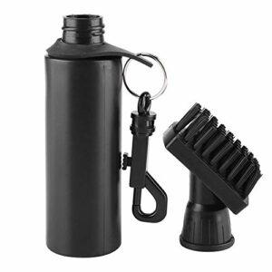 Taidda Brosse de club de nettoyage de golf, Golf Club Brush Professional Golf Club Cleaning Brush Water Dispenser Cleaner Black