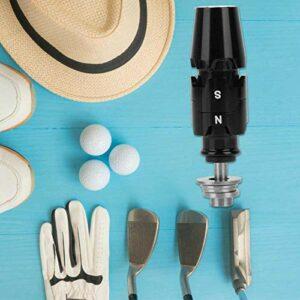 Tomantery Manchon d'adaptateur d'arbre de Golf Durable antirouille léger pour Accessoire de Golf Cadeau pour Les Joueurs de Golf